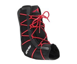 EVS AB06 Ankle Support Black/Red (Black, Small 6-8)
