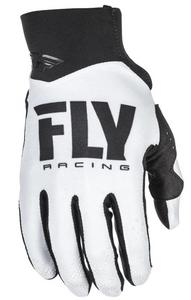 Fly Racing Pro Lite Youth Gloves (2018) White/Black (White, 6)