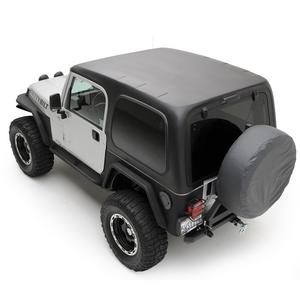 Smittybilt 519701 Replacement Hard Top 97-06 Wrangler (TJ) Black 1 pc. w/o Doors