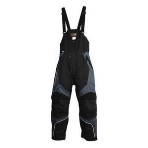 Katahdin X2-X Bibs Black/Gray (Gray, XX-Large Short)