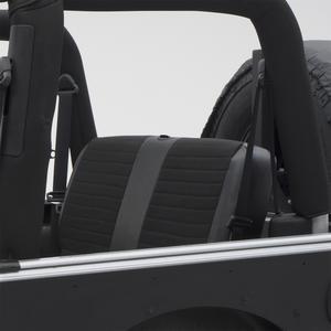 Smittybilt 755115 XRC Performance Seat Cover 80-95 CJ5 CJ7 Wrangler YJ  Rear