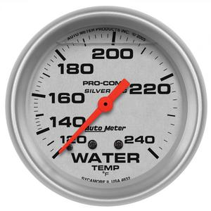 AutoMeter 4632 Ultra-Lite LFGs Water Temperature Gauge
