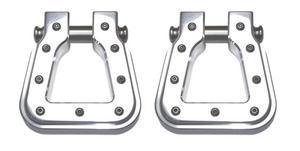 All Sales 8802P-2 Billet Hook D-Ring