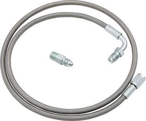 Allstar Performance 3AN Clutch Hose 24 in Braided Stainless P/N 46100-24