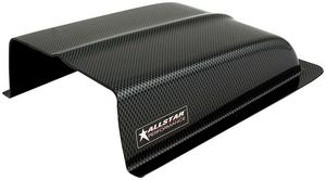 Allstar Performance Carbon Fiber Look Plastic Oil Cooler Scoop P/N 23228