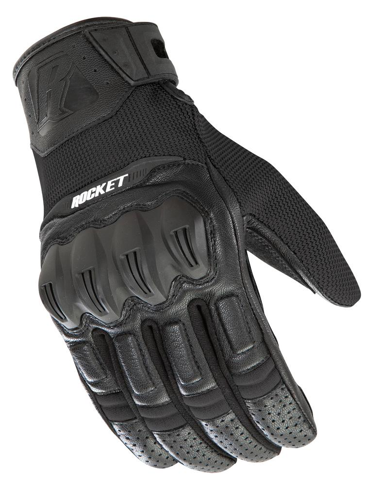 Joe Rocket Phoenix 5.1 Hybrid Gloves Black/Black (Black, XXX-Large)