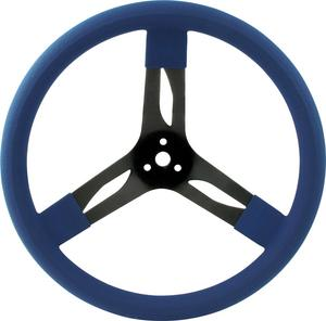 QUICKCAR RACING PRODUCTS Black Steel 15 in Diameter Steering Wheel P/N 68-0032
