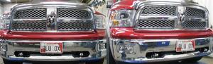Blue Ox BX1986 Tow Bar Base Plate Fits 09-17 1500 Ram 1500