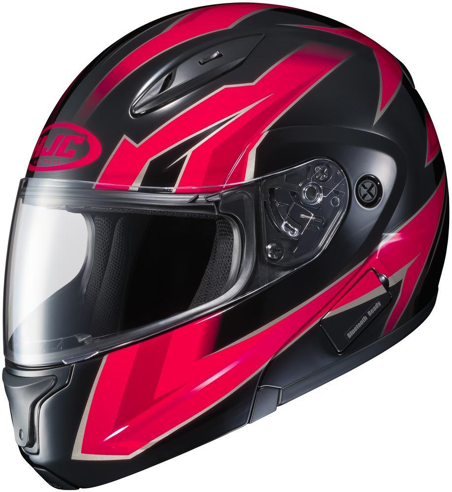 HJC CL-Max II Ridge Helmet Red (MC-1) (Red, X-Small)