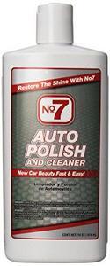 No. 7 Auto Polish & Cleaner, 14 oz. (01110)