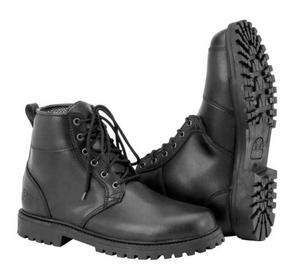 Black Brand Stomper Boots (Black, 9)