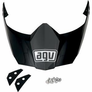 AGV KIT76113004 Peak for AX-8 Dual Sport EVO Helmet - Matte Black