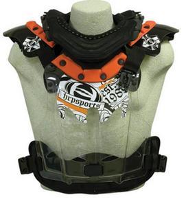 HRP Sports Flak-Jak LT IMS Peewee Chest Protector (Orange, 50-94 Lbs.)