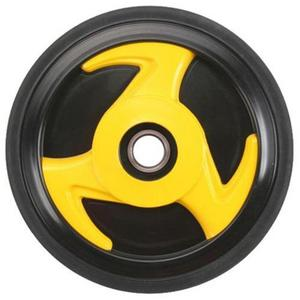 PPD Group 04-500-14 Idler Wheel - 178mm x 20mm - Yellow