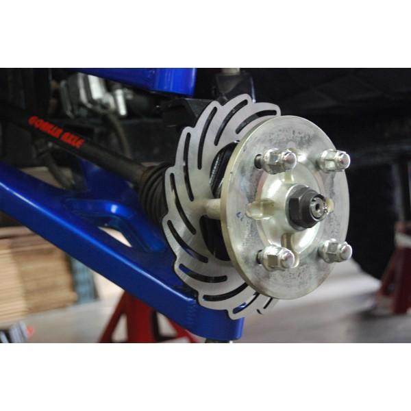 Streamline ATV Front Left Brake Rotor For Suzuki LTR 450 06-09
