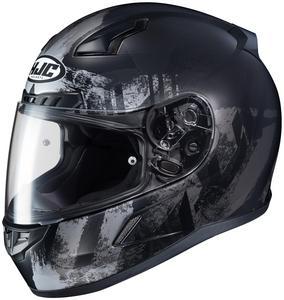 HJC CL-17 Arica Helmet Semi-Flat Black (MC-5SF) (Black, XX-Large)