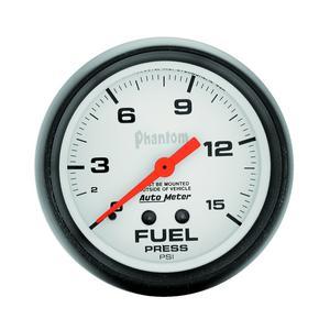"AutoMeter 5810 Phantom Mechanical Fuel Pressure Gauge 2 5/8"" 0-15 psi"