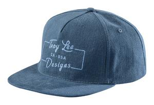 Troy Lee Designs 2017 All American Snapback Hat Blue Mens One Size