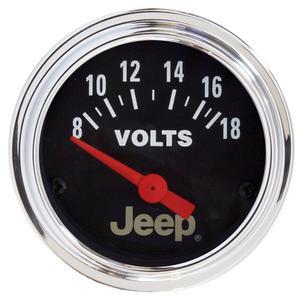 AutoMeter 880242 Jeep Electric Voltmeter Gauge