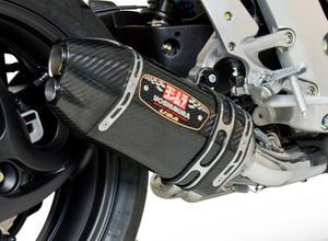 Yoshimura R-77D Race Series Slip-On 3/4 Exhaust SS/CF/CF For Honda CB1000R 11-15