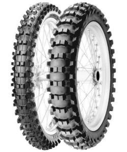 Pirelli 1664400 Scorpion MX32 Mid-Soft Rear Tire - 2.75-10