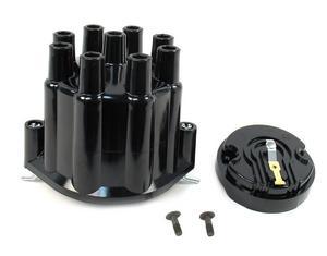 PERTRONIX Billet V8 Distributors Black Socket Style Cap/Rotor Kit P/N D600700