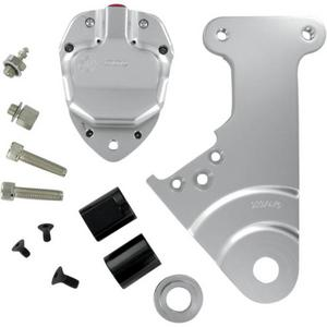 GMA Engineering GMA-205 2-Piston Custom Rear Brake B-Caliper Kit - Classic Clear Anodized