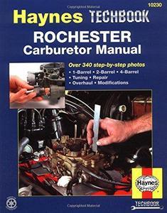 Haynes Rochester Carburetor Haynes Techbook (10230)