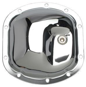 Trans-Dapt Performance Dana 25, 27, 30 Thick 10-Bolt; Chrome Differential Cover