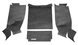 BedRug BRCJ76R BedRug Floor Kit Fits 76-80 CJ7