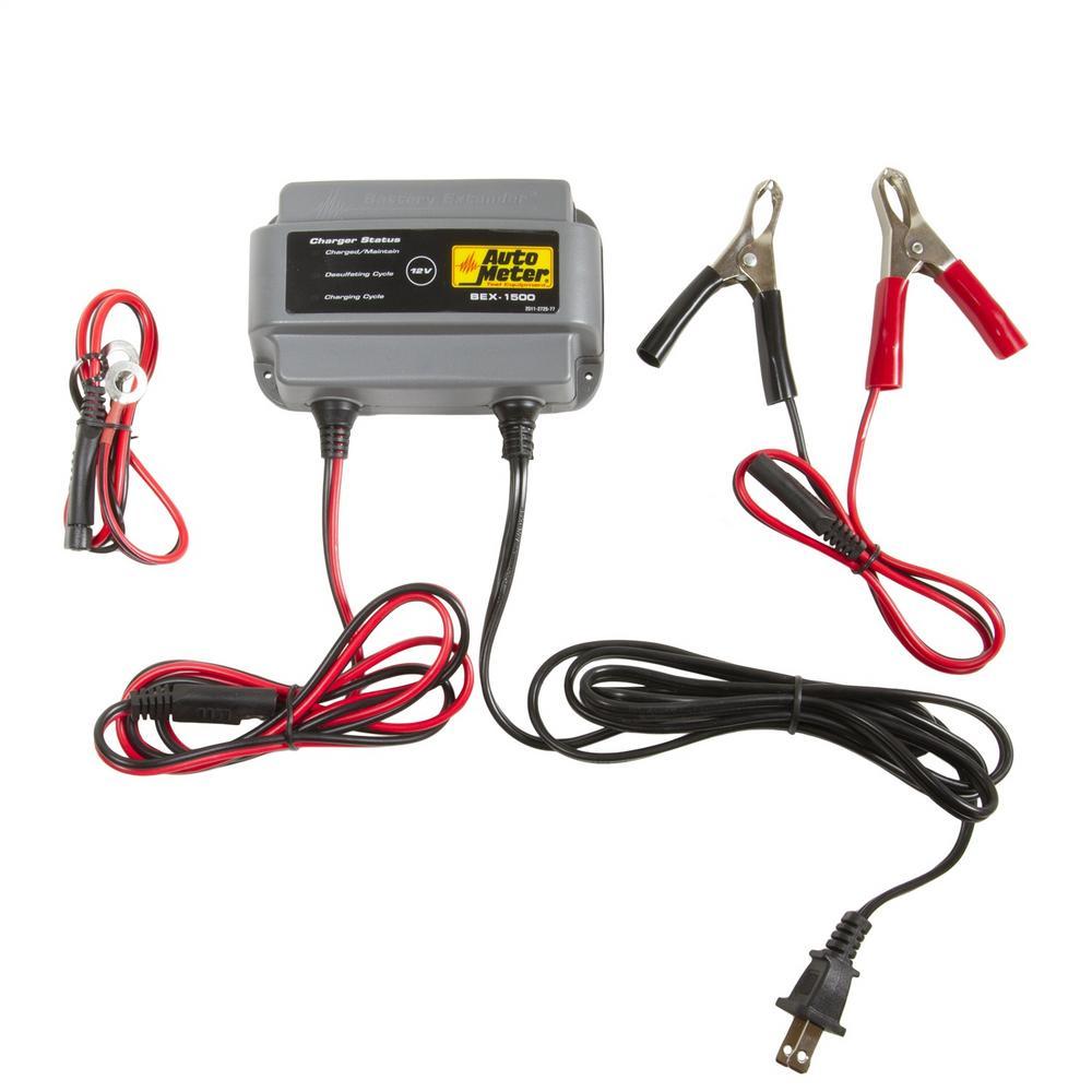 AutoMeter BEX-1500 Battery Extender 12V 1.5 Amp