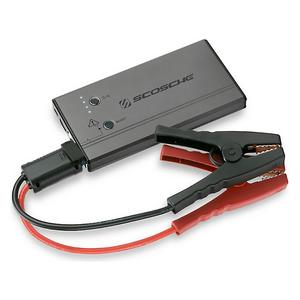 Scosche PBJ300-1 Portable Car Jump Starter - USB Power Bank With LED Flashlight
