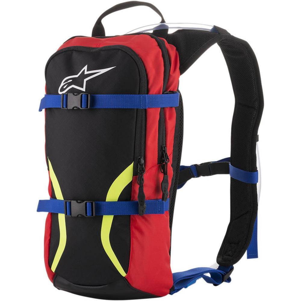 Alpinestars 61073181735 Iguana Hydration Pack - Black/Blue/Red/ Fluorescent Yellow