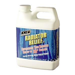 Design Engineering 040104 Radiator Relief Coolant Additive