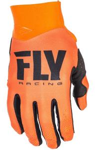Fly Racing Pro Lite Youth Gloves (2018) (Orange, Large)