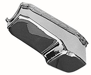 "Trans-Dapt Performance CHROME ""OEM-Style"" Oil Pan;80-85 Chevy 283-350;Pass. side"