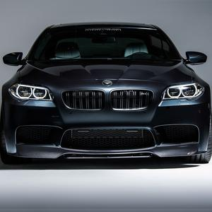 Vorsteiner VRS Aero Front Add On Spoiler Carbon Fiber fits BMW F10 M5