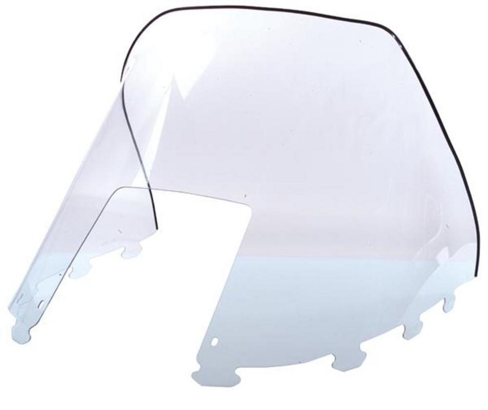 SNO Stuff 450-264-10 Windshield - High - 20in. - Clear/Graphics