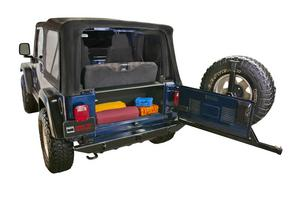 Tuffy Security Products 296-01 Security Tailgate Enclosure Fits Wrangler (TJ)