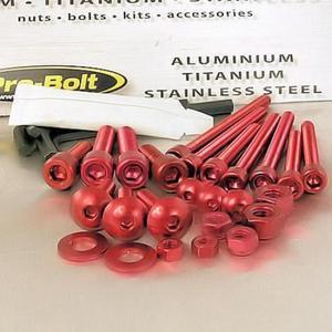 Pro Bolt WSKIT25-R 25-Piece Workshop Kit (Bolts, Nuts & Washers) - Red