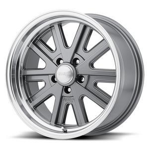 American Racing VN527 17x7 in 5x4.50 4 in BS Machined Wheel P/N VN52777012400