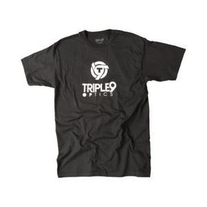 Triple 9 Optics Logo T-Shirt (Black, Small)