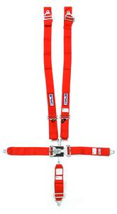 RJS SAFETY Red Wrap Around 5 Point Latch and Link Harness P/N 1131004