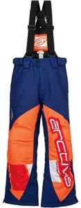 Arctiva Comp Insulated Youth Bib Navy/Orange (Blue, 14)