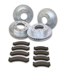 SSBC Performance Brakes A2361066 Disc Brake Pad and Rotor Kit