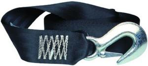 Tie Down Engineering 50472 Winch Strap With Heavy Duty Forged Latch Hook and Tail - 2in. x 20ft.