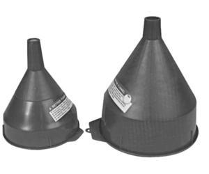 Ratio Rite 100038 Heavy Duty Polyethylene Funnels - 2qt.