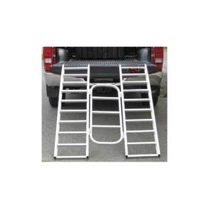 Automatic Distributors AR04T 6ft. Aluminum Tri-Fold Arched Ramp