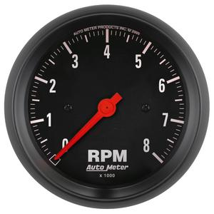AutoMeter 2699 Z-Series In-Dash Electric Tachometer