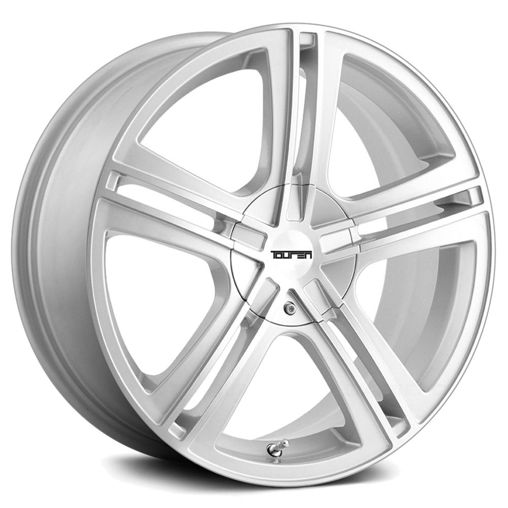 "Touren TR62 18x7.5 4x100/4x4.5"" +40mm Silver Wheel Rim 18"" Inch"